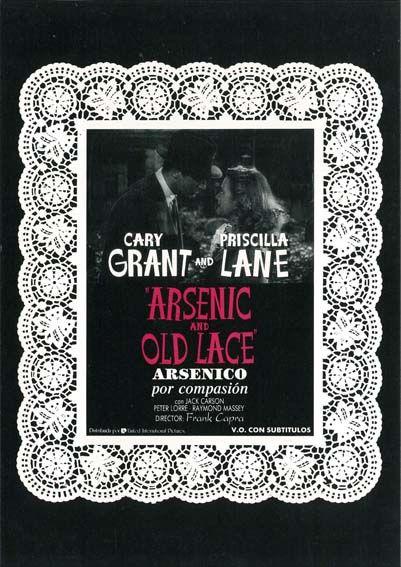 """Arsénico por compasión (1944) """"Arsenic and Old Lace"""" de Frank Capra - tt0036613"""