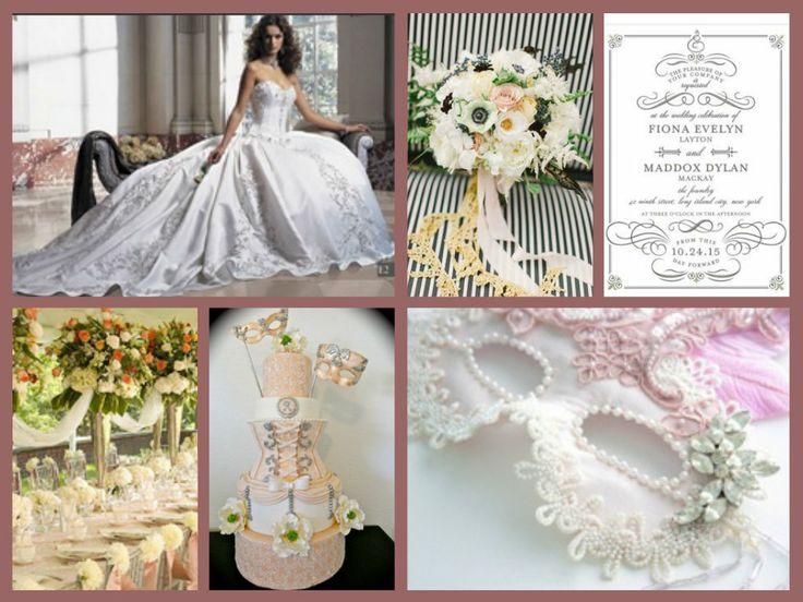 Masquerade Wedding Theme