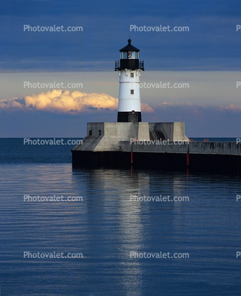Duluth Harbor North Breakwater Lighthouse. Lake SuperiorVacation  DestinationsStock PicturesNatural FashionLighthousesMinnesotaUnited States LakesPonds