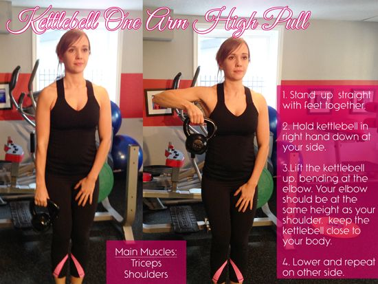 Best Kettlebell Exercises for Arms - Fitness For Women by Flavia Del Monte