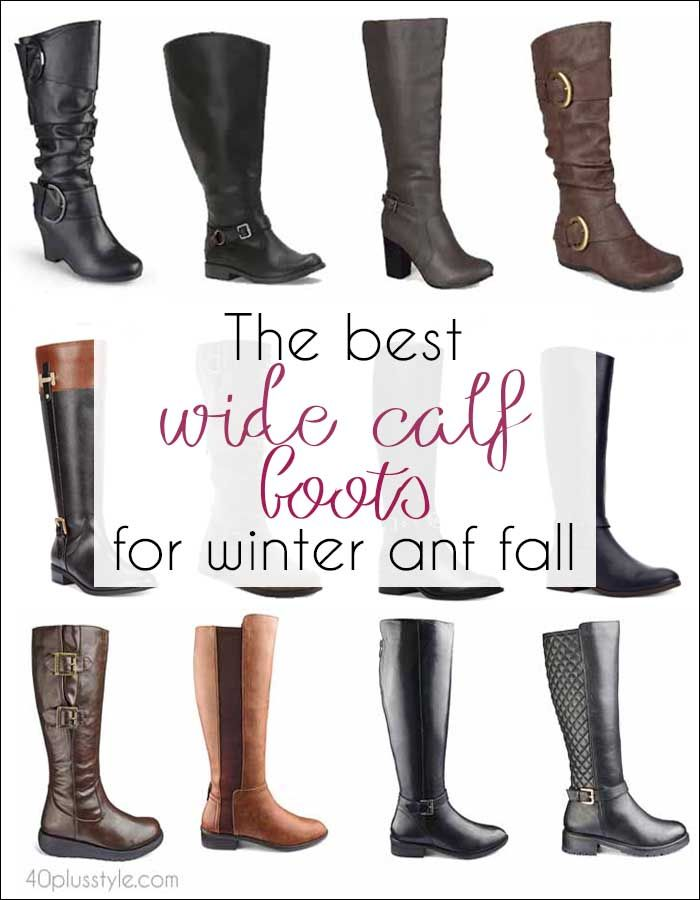 7de08abab0a The best wide calf boots for winter and fall
