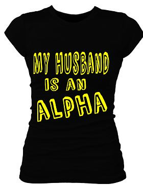 Alpha Phi Alpha spouse t-shirt
