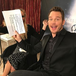 But one of the funniest things he's done on Instagram has to be when he constantly cropped Jennifer Lawrence out of his photos while on their recent promo tour. | 25 Times Chris Pratt Was Really Fucking Funny On Instagram