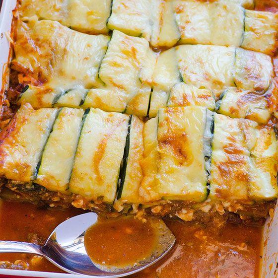 Clean Eating Zucchini Lasagna 1 1 5 Lbs Ground Turkey I Used Venison 25