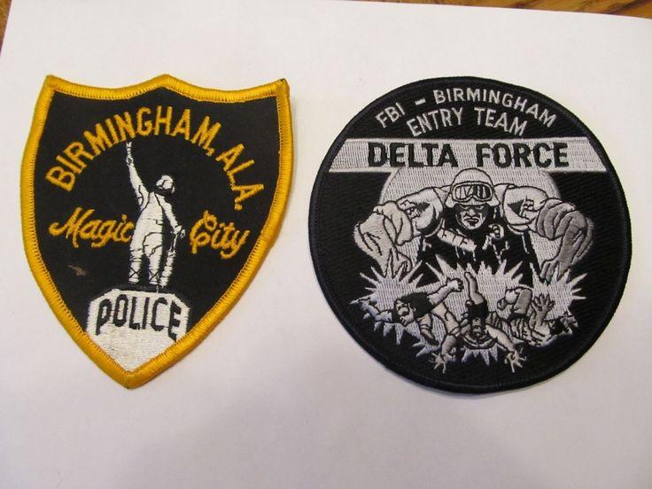 Alabama Birmingham Police Patch & FBI Police Delta • $4.00 - PicClick