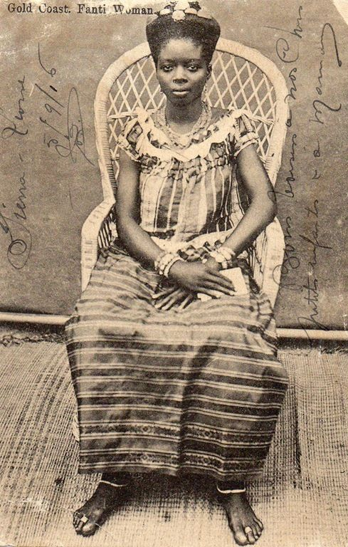 Vintage Photos: Coastal African Hair Styles in early 1900s
