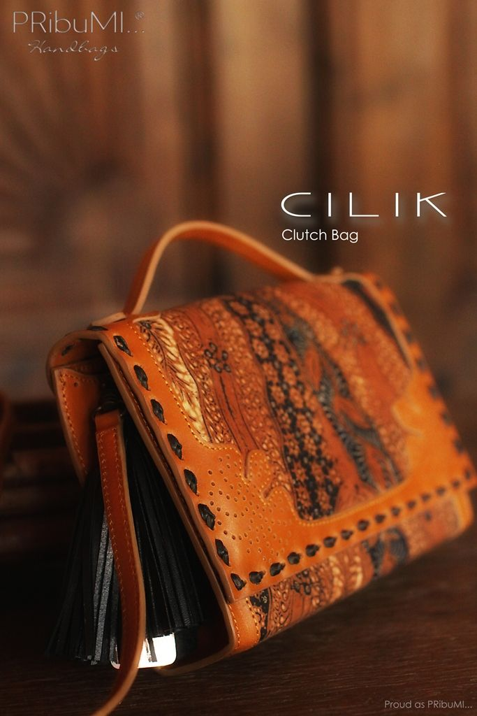 CILIK Clutch Bag by PRibuMI...®