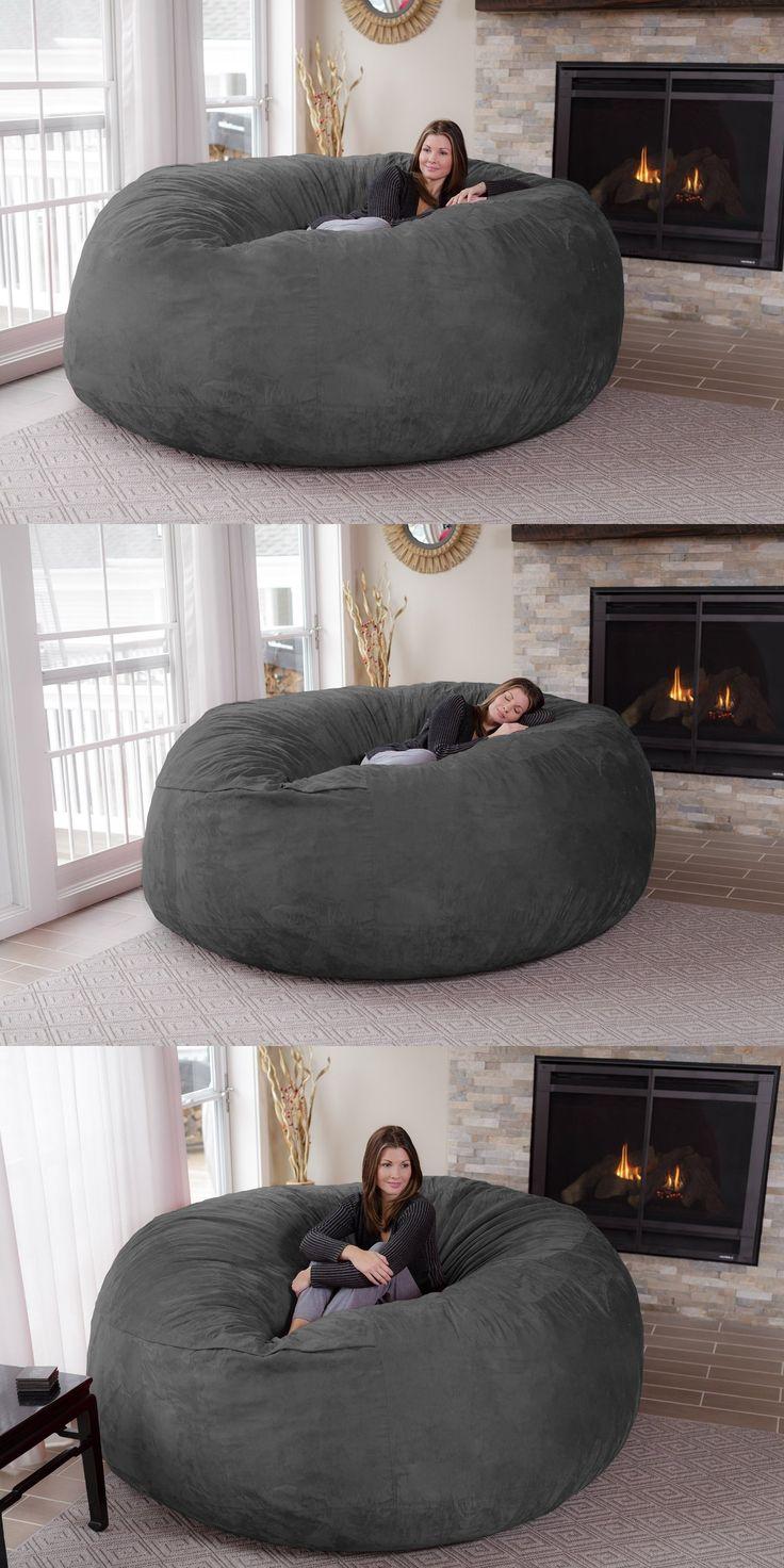 Jumbo Bean Bag Chair Home Decor Sillones De Tipo Puff
