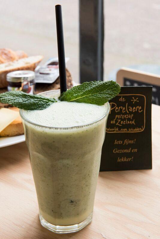 Deze frisse smoothie met Perelaere, meloen en munt is genieten op elk moment van…