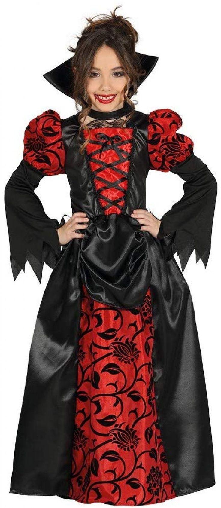 Draculessa Traje de niña Vampiresa Vampiro Dracula