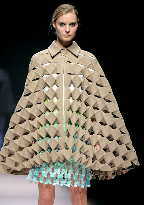 structured clothes - opening up origami clothes - Google-Suche
