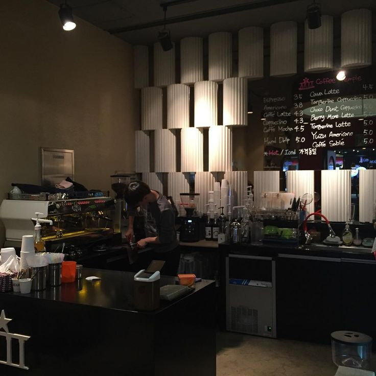 Coffee Temple - Чемпион бариста SA HONG KIM