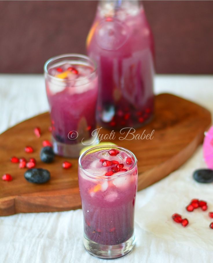 Purple Delight Mocktail, Black Grapes and Pomegranate Cooler recipe, Black Grapes and Pomegranate Cooler, purple delight mocktail recipe, Cool Beverages, cool drinks, non alcoholic drink ideas, fruit based drink ideas