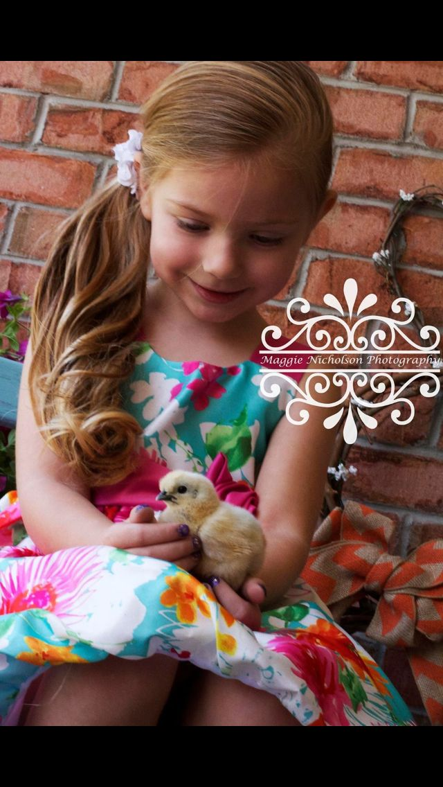 Maggie Nicholson Photography children Easter  eggs bunny basket baby chick