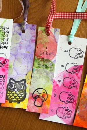 Bookmarks To Make - Things to Make and Do, Crafts and Activities for Kids - The Crafty Crow