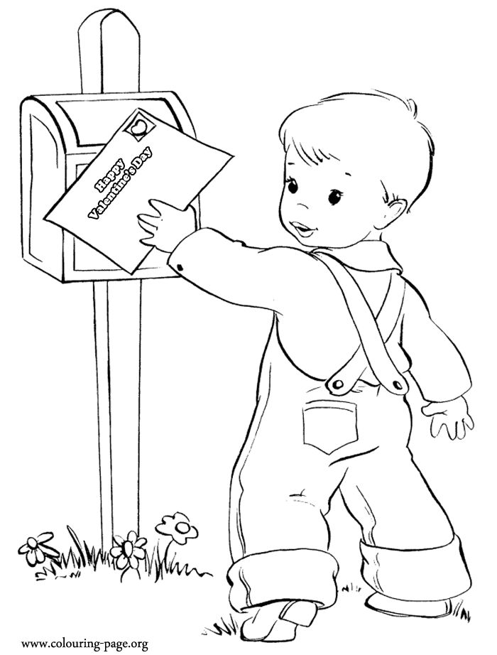 older valentines day coloring pages - photo#7