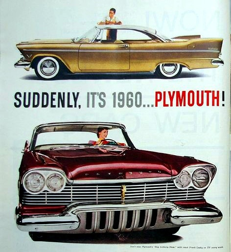 1960 Plymouth. I Had One Of These Too. It Was A Slant Six