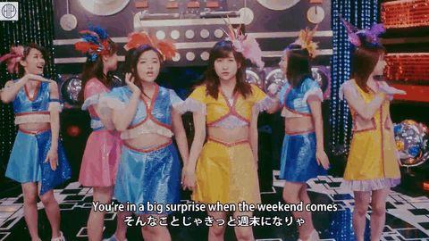 Suzuki Kanon (featuring Sato Masaki) gif from Utakata Saturday Night Hello!Station Preview. #MorningMusume #モーニング娘 #SuzukiKanon #Zukki #鈴木香音 #ズッキ#SatoMasaki #Maachan #佐藤優樹 #まーちゃん
