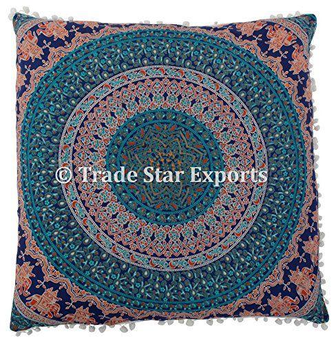26 X 26 Mandala Euro Sham, Indian ethnic Pillow Case, Lar... https://www.amazon.com/dp/B079TT9FJV/ref=cm_sw_r_pi_dp_U_x_WENIAbW95C24X