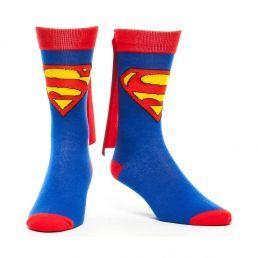 Des chaussettes Superman, pour mettre la mode geek à nos pieds !