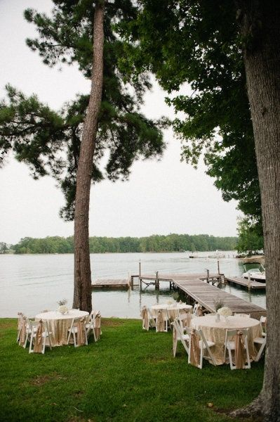 backyard lake martin wedding by spindle photography