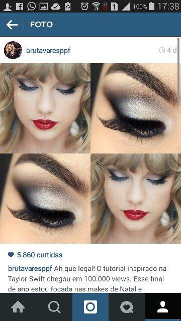 Taylor swift Blanck Space make up