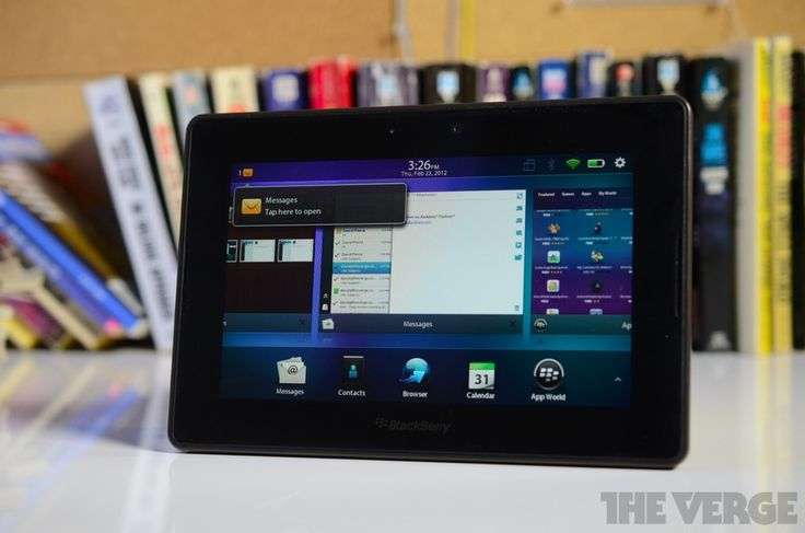 Blackberry Playbook 2.0. Maybe a comeback?