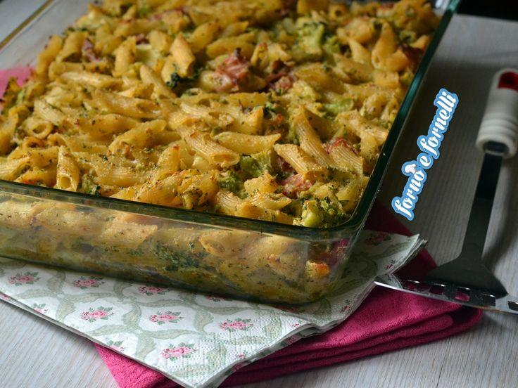 Pasta+al+forno+con+broccoli+e+speck