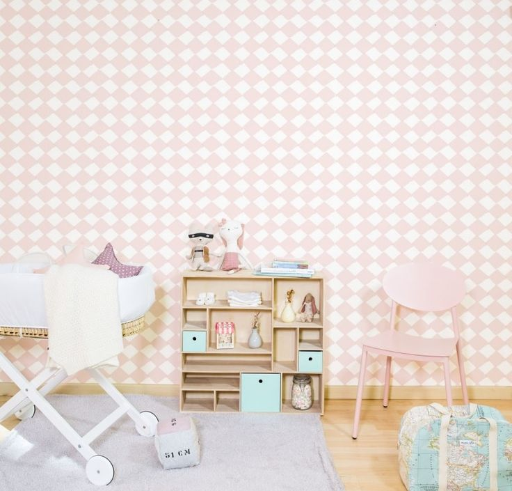 17 best images about papel pintado infantil on pinterest for Papel pintado topos