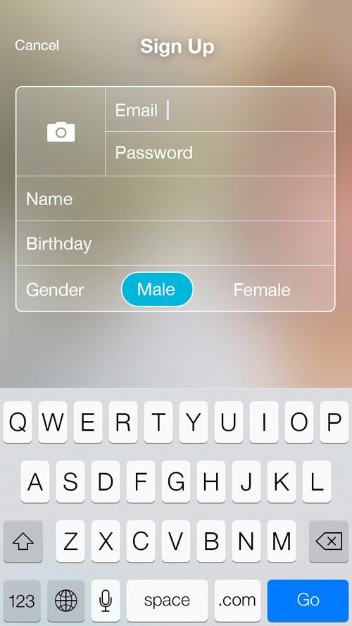 Best Mobile Ui  Forms Images On   Mobile Ui App