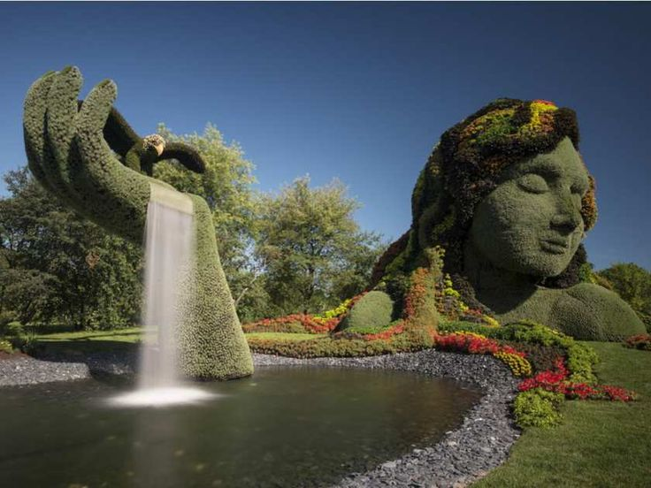 at Gatineau's Jacques Cartier Park exhibition called MosaiCanada.