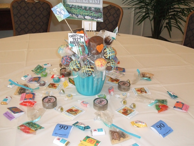 1000 Images About 90th Birthday Party Ideas On Pinterest