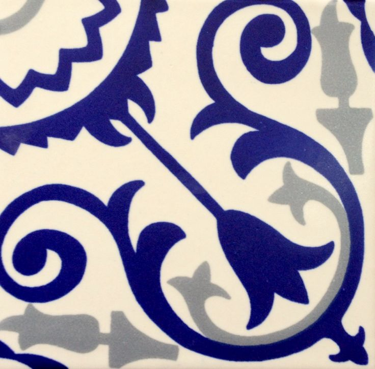 Azulejo artesanal Matte #hechoamano #DoloresHidalgo #Gto