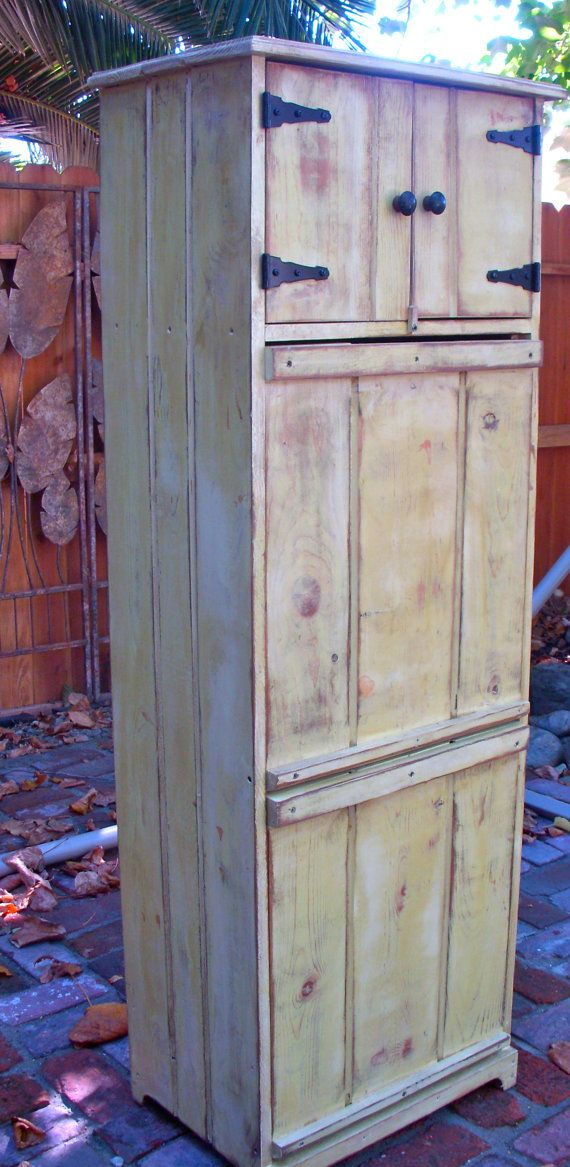 Our newest item, a laundry hamper! Solid wood, your antique color choice! xo