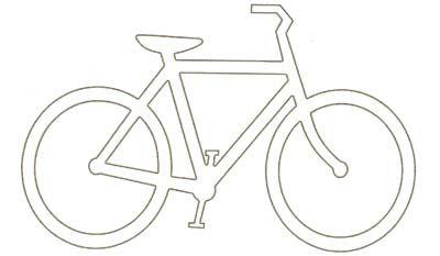 Fahrrad Zeichnung Einfach : fahrrad malvorlage malvorlagen pinterest ~ Watch28wear.com Haus und Dekorationen