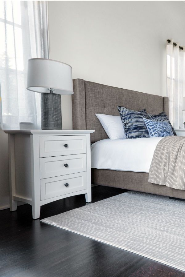 Copenhagen Nightstand White Shaker Style Bedroom This Design Is A Modern Interpretation Of Clic Craftsmanship The Clean Lined Piece Sits
