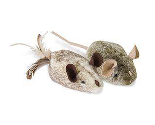 Kattleksak Play-N-Squeak Twice the mice 2pack
