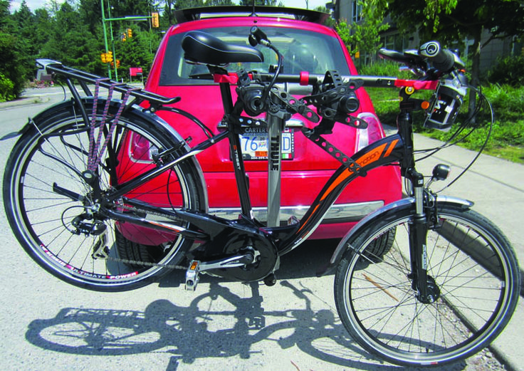 Review of the Thule Helium Bike Rack. Transporting your bike means you can #cycle anywhere! The Thule bike rack is an excellent, robust bike rack that will keep your bikes safe over the roughest of roads. It's a cinch to install, easy to use, and very, very strong.