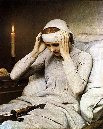 """Blessed Anne Catherine Emmerich (1774 – 1824) was a Roman Catholic Augustinian nun, stigmatic, mystic, visionary and ecstatic. Her detailed visions on Christ's Passion can be found in """"The Dolorous Passion of Our Lord Jesus Christ"""". Click picture to read her story."""