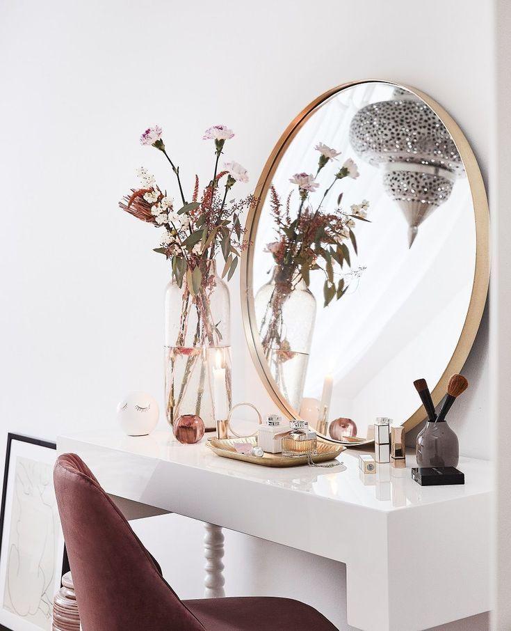 Wandspiegel Metal Wohnen Home  Interior Pinterest - rattan schlafzimmer komplett