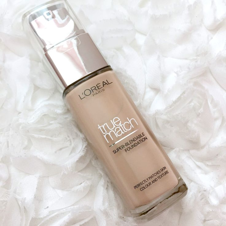 The New L'Oreal True Match Foundation