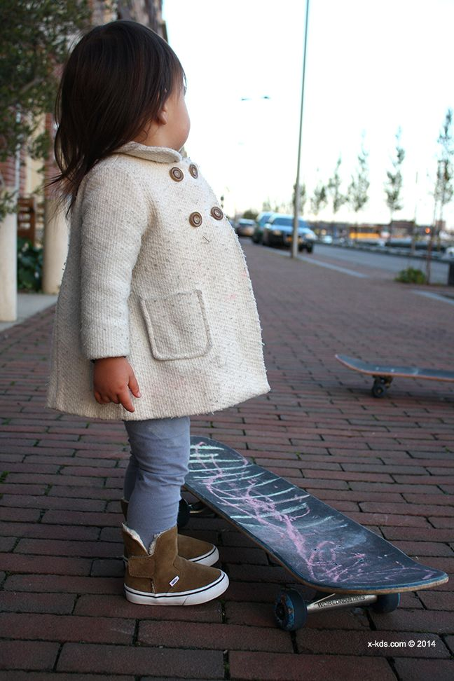 fotoshoot winter collection vans: slip on boot brown toddler / bruine laarsjes vans