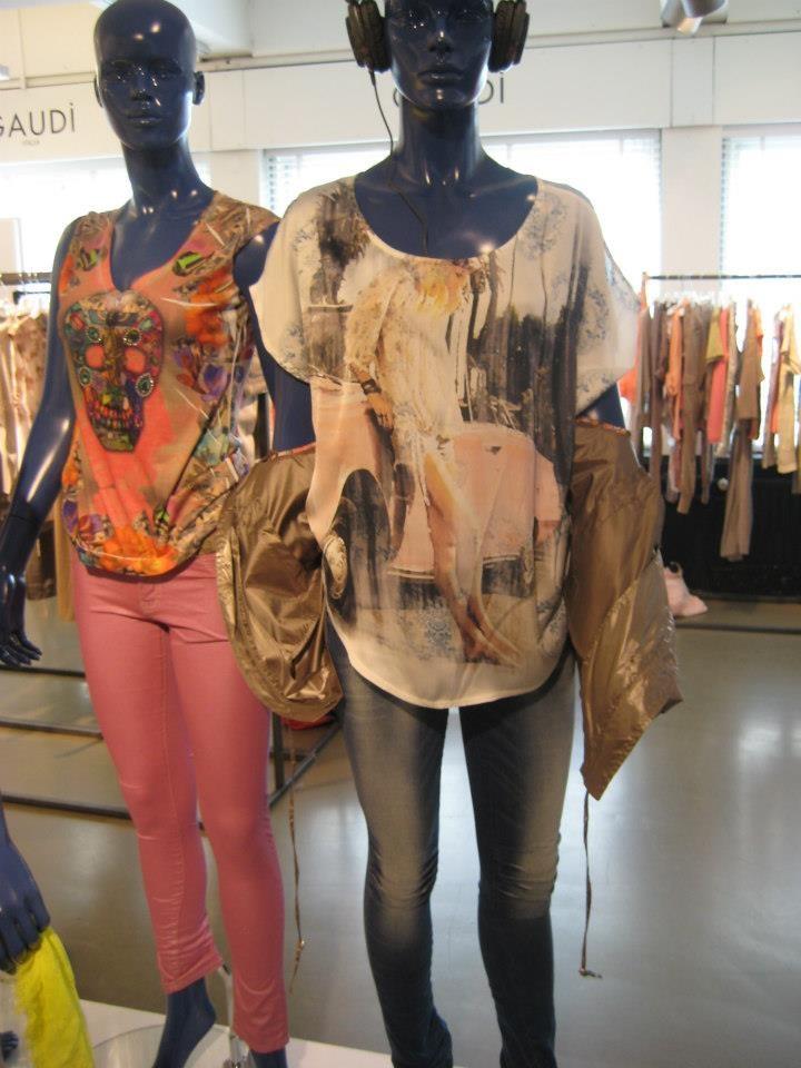 Leuke drukke tops van Gaudi! Nu bij Seasons Mode Nijmegen