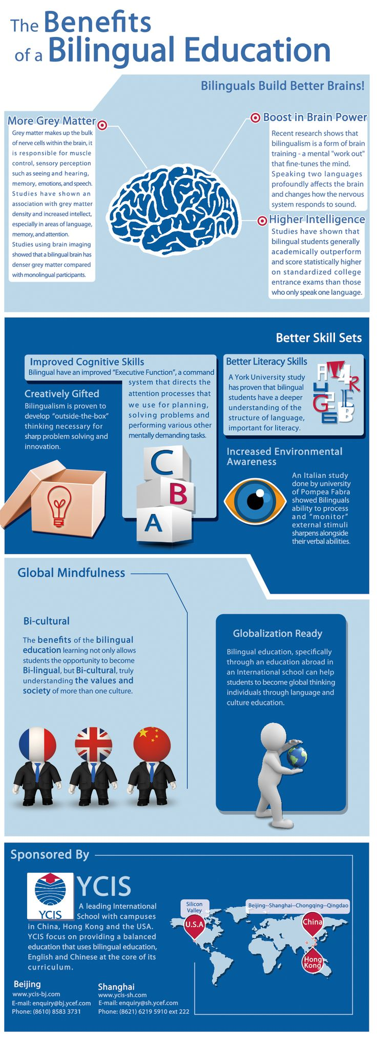 best advantages of education ideas use of infographic the benefits of bilingual education