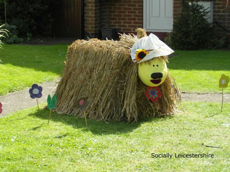 Doogal, Magic Roundabout. Fantasic scarecrows at Lubenham. We'll be going again this year. Come and see the creations with us.