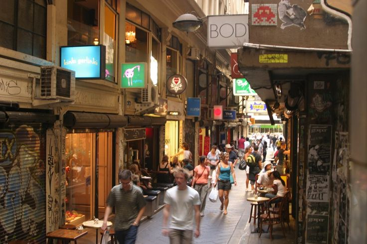 Get lost looking at art, shopping, and snacking in the Laneways of Melbourne.