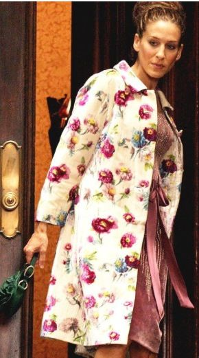 The floral print