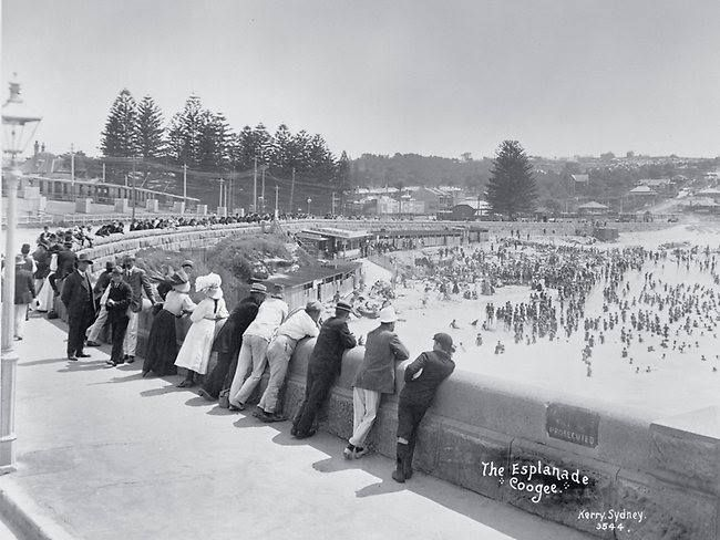 The Esplanade, Coogee, 1900. From Wikipedia