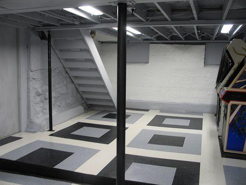 Nice DIY Basement Remodel...the Ceiling For Low Basement Ceilings