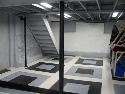 8 Best Images About DIY Basement Renovation On Pinterest Exposed